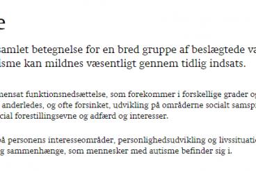 Autisme.dk
