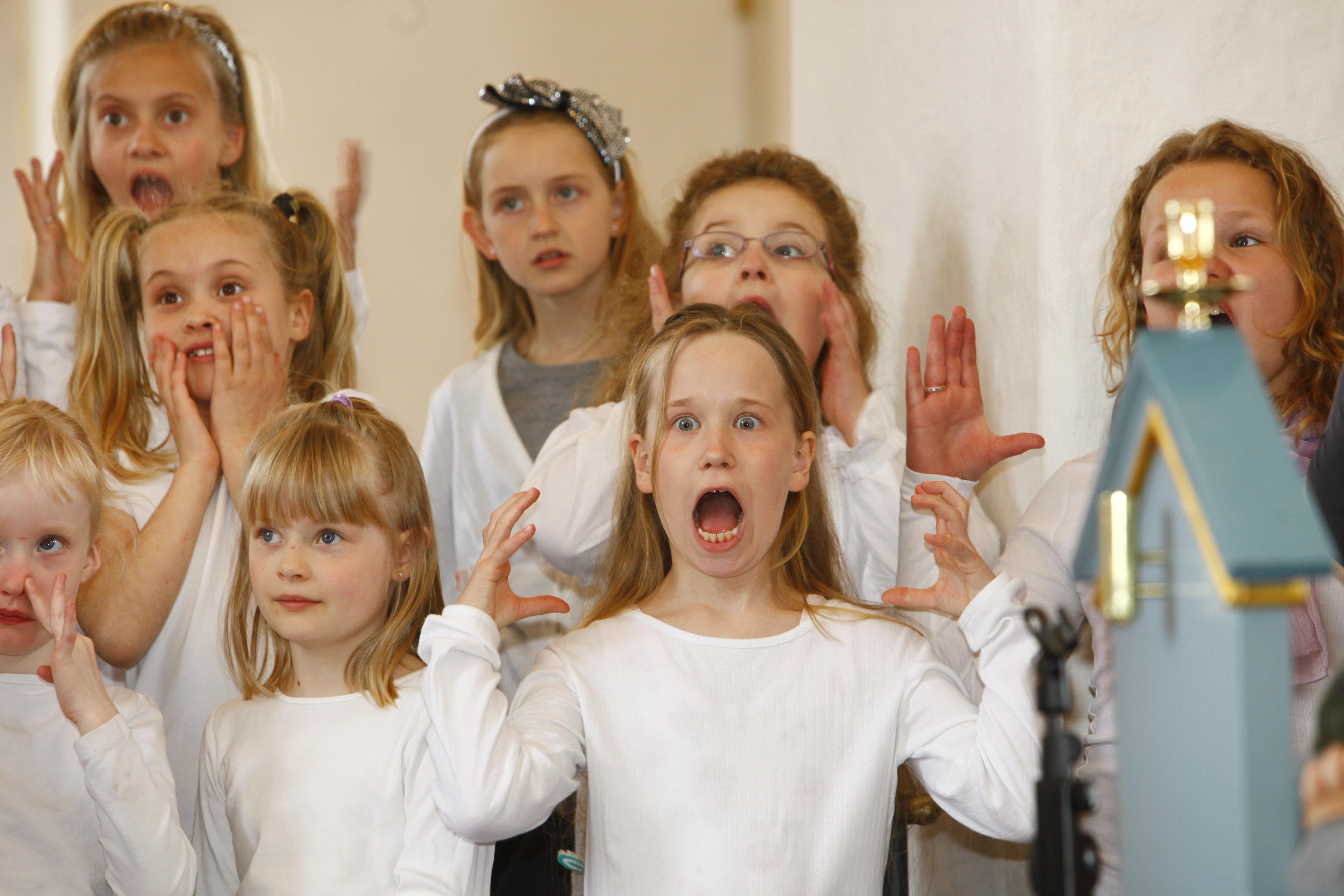 Herstedøster Kirkes spire- og børnekor 1
